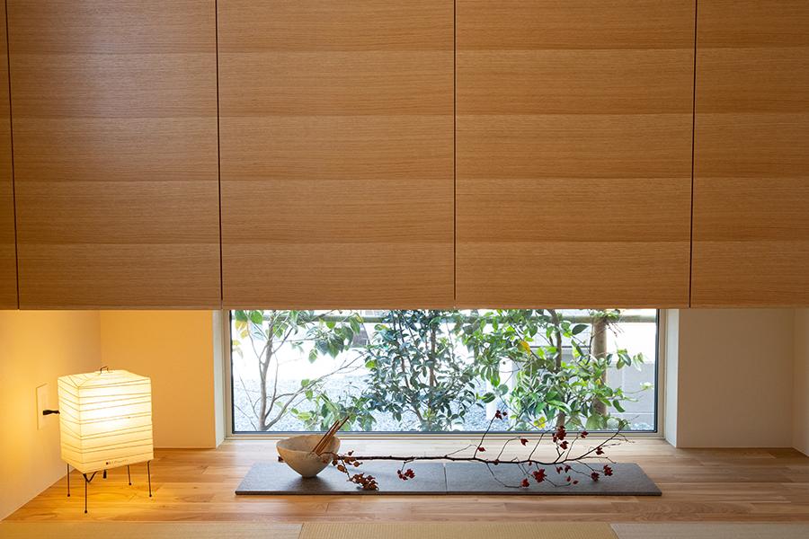 アトリエセツナ 渡邉吉太 ウンノハウス「土間のある家」 和の空間を意識し、鋳物の質感を大切にしている