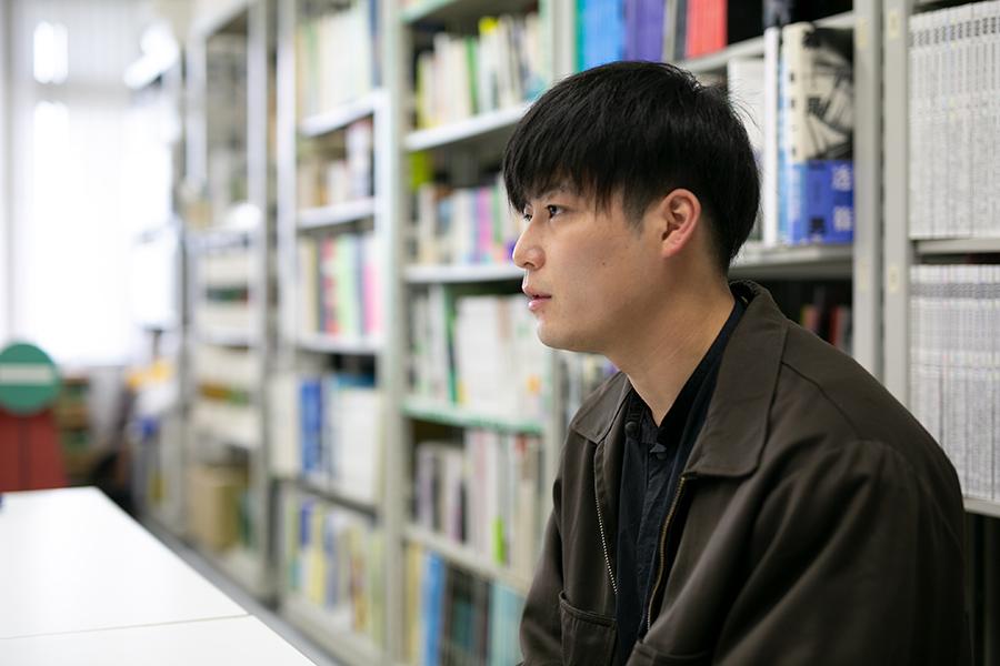 東北芸術工科大学デザイン工学部建築・環境デザイン学科で学ぶ櫛田海斗さん