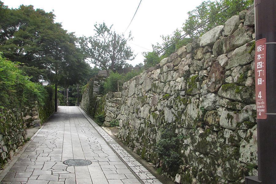 北野博司 #07 滋賀県大津市坂本 国の重要伝統的建造物群保存地区に指定されている町並み