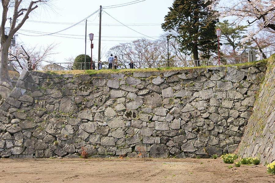 北野博司 #07 盛岡城跡の石垣