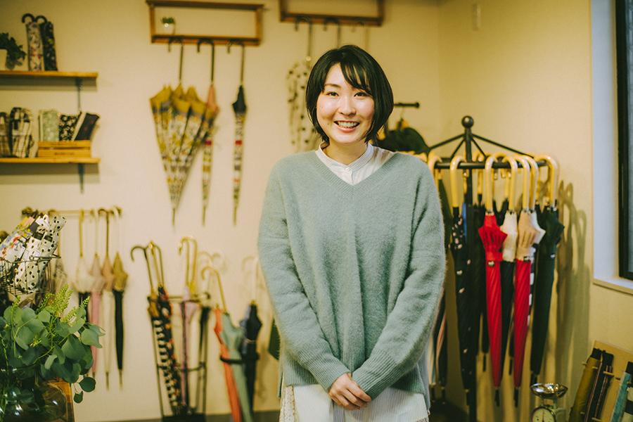 株式会社ビコーズ because 洋傘デザイナー 小川麻衣子さん
