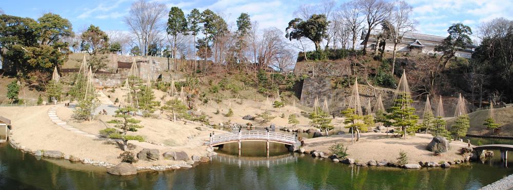 北野博司 #08 整備された玉泉院丸庭園と玉泉庵からの眺望